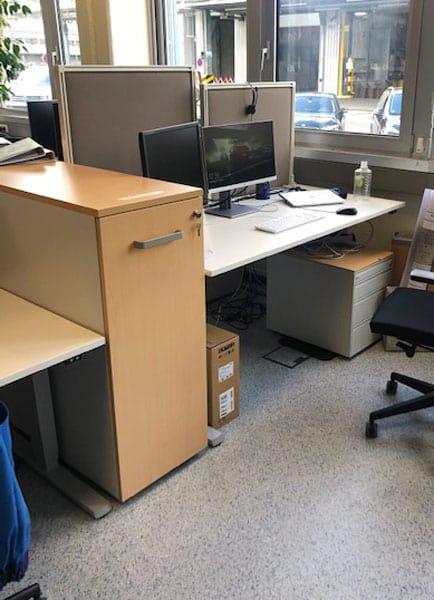 gebrauchte Büromöbel Gravo